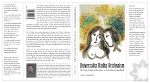 Dust jacket for Universalist Radha-Krishnaism: The Way of Natural Devotion; A Practitioner's Handbook
